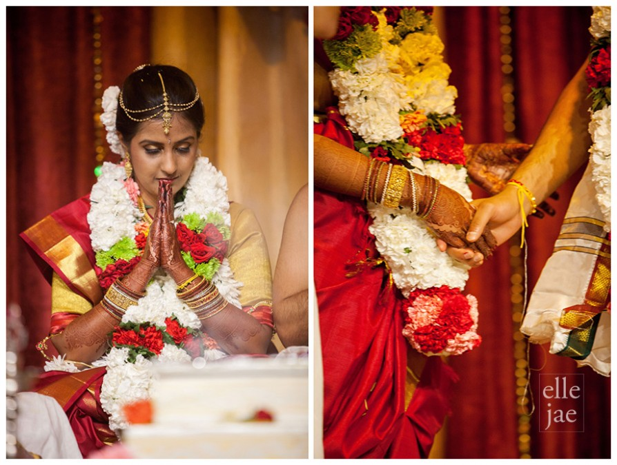 Indian wedding at the Livermore Temple