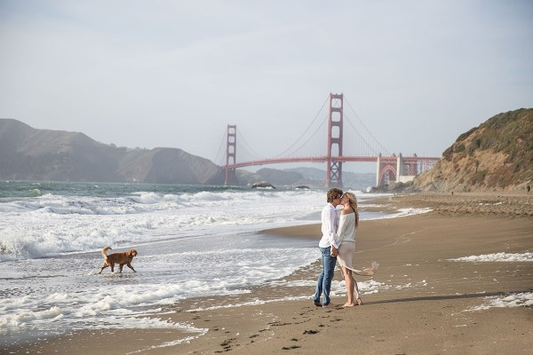baker beach engagement 2