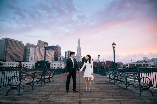 san francisco engagement 2