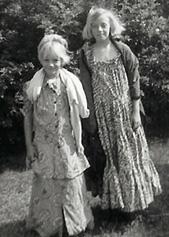 Elle & Delilah Growing-Up
