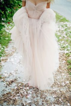 tulle-off-shoulder-wedding-gown