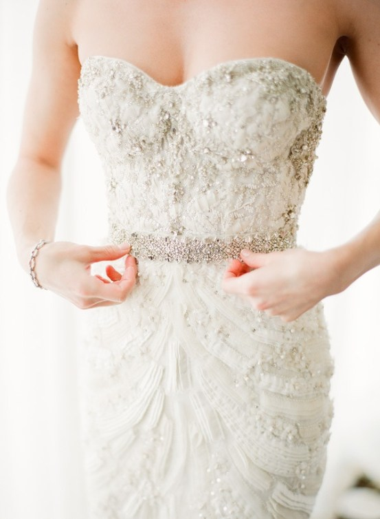 vintage-ruffles-and-beaded-bridal-gown-from-monique-lhuillier