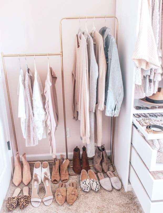 Closet Room Update {Pax Wardrobe}