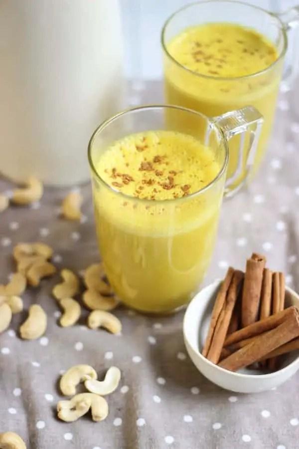 Golden latte au curcuma