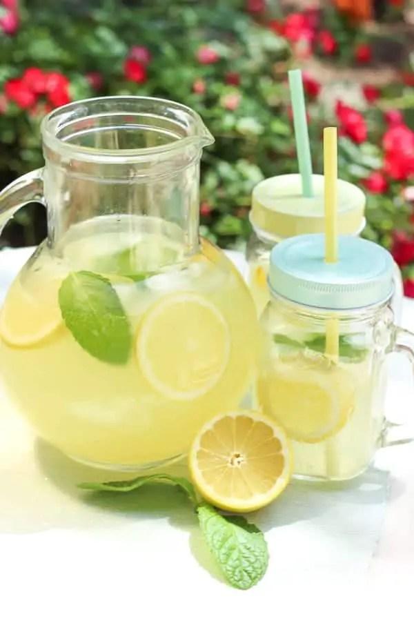 Citronnade à l'américaine (lemonade)
