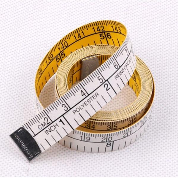 Mètre ruban couture jaune 150cm