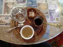 Learning how to make traditional Bosnian coffee