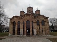 Gračanica Monastery, a Serbian Orthodox monastery located about 5km from Pristina, Kosovo