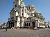 St. Alexander Nevsky Cathedral, an Orthodox cathedral in Sofia