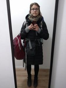 Last outside-the-Schengen selfie, taken at 4am in my Sofia Airbnb
