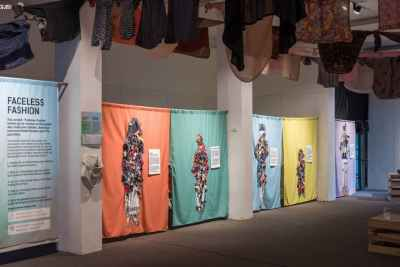 Image for Fashion Revolution Vietnam Who Made My Clothes Exhibition Ellen Downes