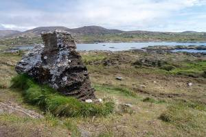 The Hag of Beara stone on the Beara peninsula.