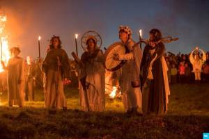 Beltaine celebration at Uisneach, May 5, 2018. Photo by Ewelina Wu website ewelinawu.com Fb: @EwelinaWuDotCom