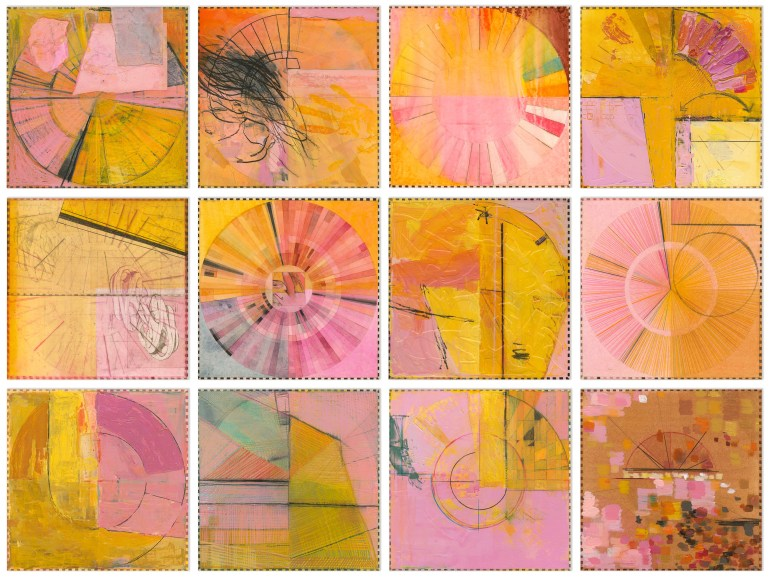 Ellen Heck - Pink Angels Rotated 90 Degrees Counterclockwise
