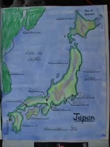Map of Japan Project
