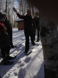 Snowshoeing in the winter: as easy as walking, and lots more fun!