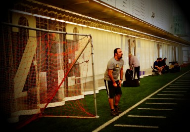 Play indoor soccer at Commonwealth Leisure Centre