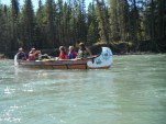 The voyageur canoe