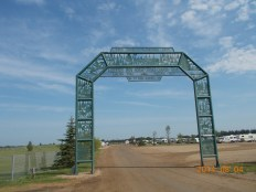 Staging area gate