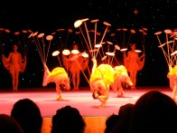 The Beijing Acrobats were very talented, but it was sad to see such young children working so hard.