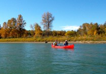 Canoeing from Devon-Edmonton