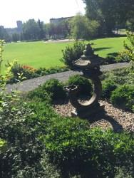 Hokkaido twin city monument, Alberta legislature