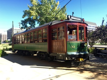 Edmonton streetcar