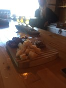 Cheese & sausage, Blindman Brewing, Lacombe