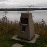 Memorial Cairn, Squadron Leader W. C. McGuffin