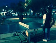 Ping Pong (table tennis) in Churchill Square