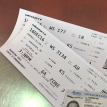 boarding passes and photo ID