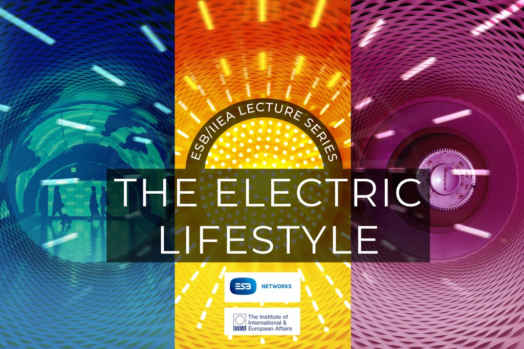 Branding for the Electric Lifestyle event series hosted by the IIEA and ESB