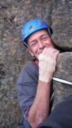 Nik IN the crag