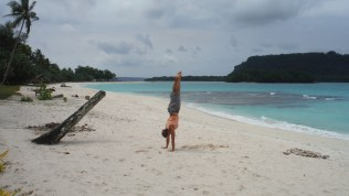 Handstands in paradise