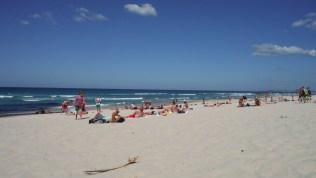 Gold Coast - beach of Surfers Paradise