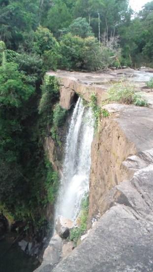 ... The waterfall