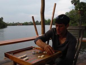 Backgammon @champa lodge