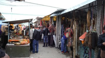 Markets everywhere in the world are the magnifiers of the culture. So in Narantuul/Black Market of course a lot of horse stuff