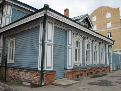 Tataarse huizenstijl denk ik