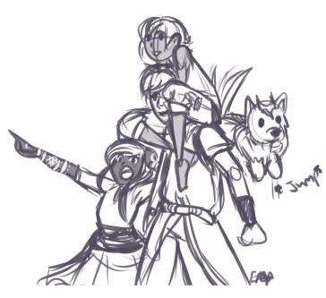 Draw the Squad - Prompts2