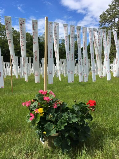 Remembering Our Fallen: Memorial Day Public Art Project 2017