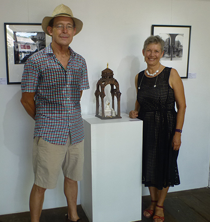 Mick Lord and Ellen Appleby - the artists