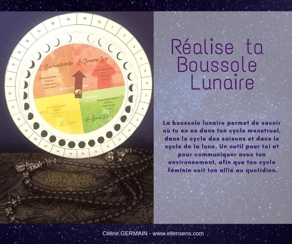Réalise ta Boussole Lunaire (3)