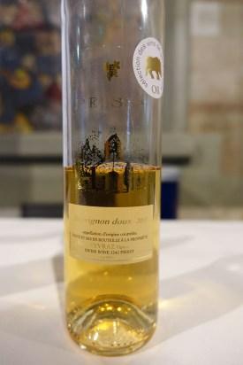 wine white sweet Sauvignon Gris 2013 Domaine Les Bossons Geneva_170615