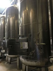 tanks sparkling wine Cave de Geneve new labels Belles Filles_260516