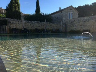 Gressac, infinity pool