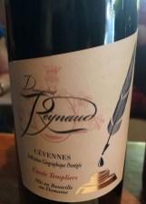 wine red blend Cuvée Templier DomReynaud St Siffret France_230916
