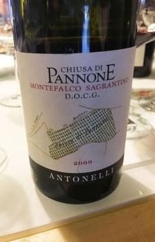 wine red Italy Montefalco Antonelli Chiusa di Pannone2_261017
