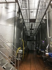 winery Italy Montefalco Antonelli stainless steel gravity_261017