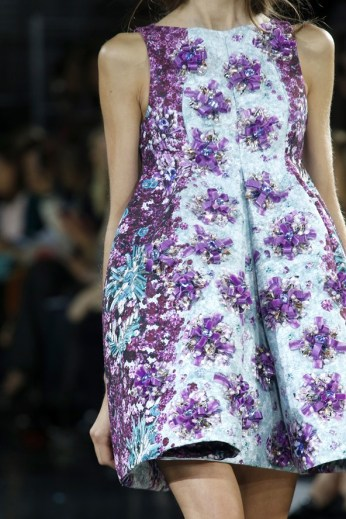 Think floral, literally for the orchid shape.